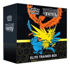 Hidden Fates Pokemon Elite Trainer Box