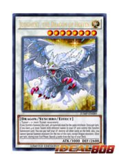 Judgment, The Dragon of Heaven - JUMP-EN089 - Ultra Rare - Limited Edition