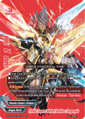 Thunder Emperor Warlord, Barlbatzz Dragoroyale [S-BT02A-SP/BR01EN BR (Metallic FOIL)] English