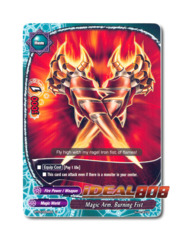 Magic Arm, Burning Fist - BT03/0056EN (U) Uncommon