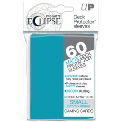 Ultra Pro Matte Eclipse Small Sleeves 60ct - Sky Blue [#85829]