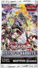 Fists of the Gadgets (1st Edition) Yugioh Booster Pack [5 Cards]