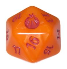 MTG Spindown 20 Life Counter - From the Vault: Annihilation (Orange Fireball)