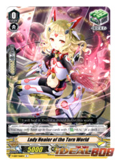 Lady Healer of the Torn World - V-EB07/066EN - C