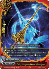 Deity Dragon Sword, Garrapier [S-BT01A-CP01/0045EN Secret (FOIL)] English
