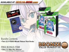 CFV-V-TD05  BUNDLE (A) Bronze - Get x2 Misaki Tokura Trial Decks + FREE Bonus Items