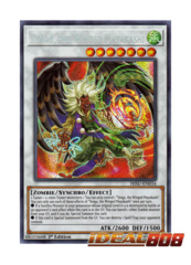 Tengu, the Winged Mayakashi - HISU-EN034 - Secret Rare - 1st Edition