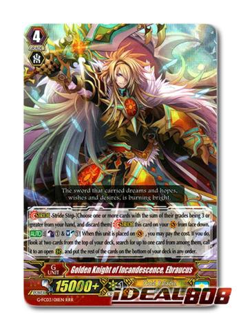 Golden Knight of Incandescence, Ebraucus - G-FC03/011 - RRR