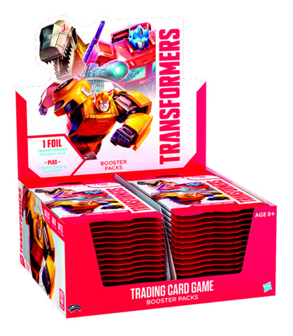 B01 Base Set Season 1 (English) Transformers TCG Booster Box [30 packs]