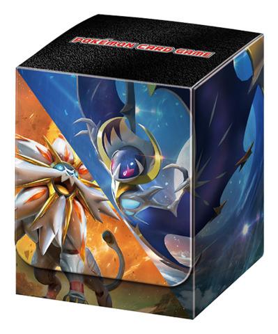 Pokemon Sun & Moon - Deck Box - Solgaleo & Lunala (includes Dividers) [#190563]