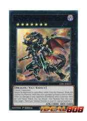 Red-Eyes Flare Metal Dragon (Blue) - LDS1-EN015 - Ultra Rare - 1st Edition