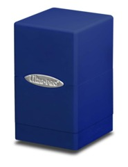 Ultra Pro Satin Tower Deck Box - Blue (#84175)