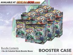 SM Sun & Moon - Celestial Storm (SM07) Pokemon Booster  Case (6 Boxes)