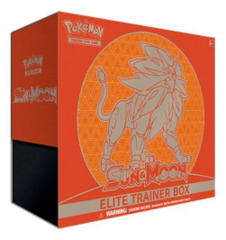 SM Sun & Moon (SM01) Pokemon Elite Trainer Box - Solgaleo