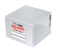 Ultra Pro Dual Deck Box - White (#82987)