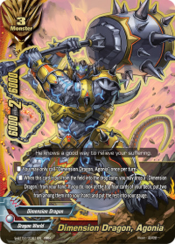 Dimension Dragon, Agonia [S-BT02/0001EN RRR (FOIL)] English