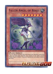 Fallen Angel of Roses - PRC1-EN010 - Super Rare - 1st Edition