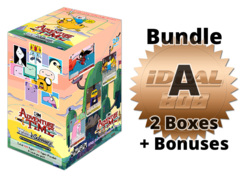 Weiss Schwarz Adventure Bundle (A) Bronze - Get x2 Adventure Time Booster Boxes + FREE Bonus Items * COMING SOON