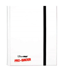 Ultra Pro 4-Pocket Pro Binder - White (#84016)