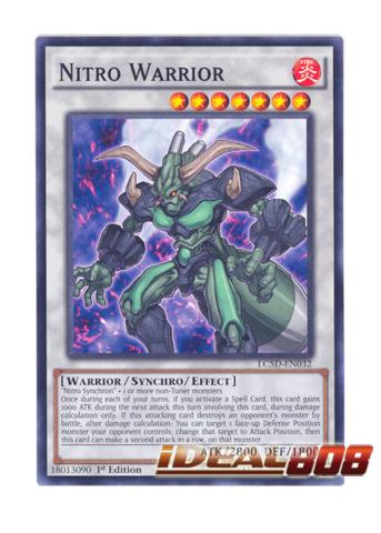 Nitro Warrior - LC5D-EN032 - Common - 1st Edition