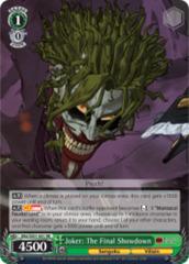 Joker: The Final Showdown [BNJ/SX01-001 RR (Mosaic Gloss)] English