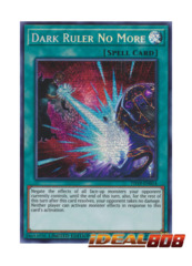 Dark Ruler No More - TN19-EN014 - Prismatic Secret Rare - Limited Edition