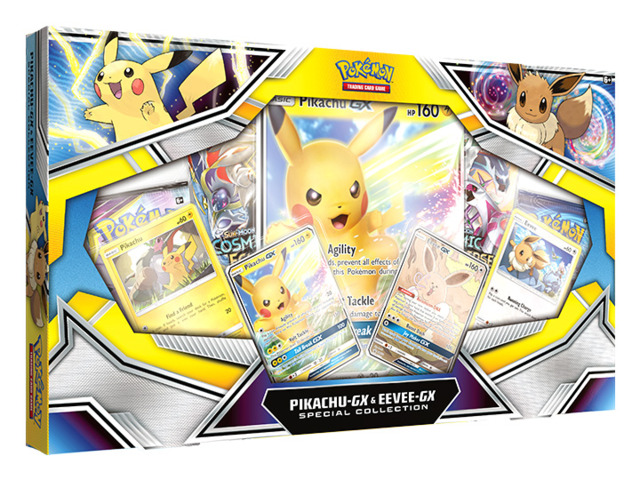 Pokemon TCG: Pikachu-GX & Eevee-GX Special Collection * PRE-ORDER Ships Nov.01