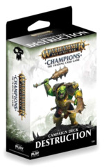 Warhammer TCG: Age of Sigmar Champions (English) Deck - Destruction