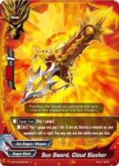 Sun Sword, Cloud Slasher [D-BT04/0057EN U] English