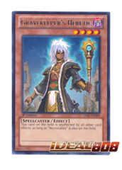 Gravekeeper's Heretic - LVAL-EN084 - Rare - 1st Edition
