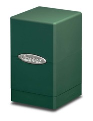 Ultra Pro Satin Tower Deck Box - Green (#84176)