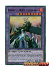 Elemental HERO Magma Neos - SHVA-EN034 - Super Rare - 1st Edition