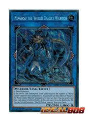 Ningirsu the World Chalice Warrior - MP18-EN068 - Secret Rare - 1st Edition