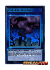 Call of the Haunted - SBLS-ENS03 - Ultra Rare - 1st Edition
