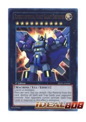 Superdimensional Robot Galaxy Destroyer - REDU-EN044 - Ultra Rare - 1st Edition