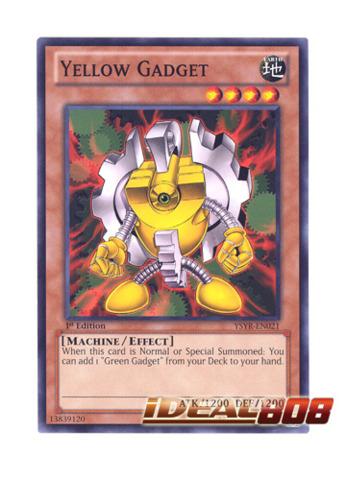 Yellow Gadget - YSYR-EN021 - Common - 1st Edition