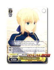 Past Hero, Saber [FS/S34-E012 U] English Uncommon