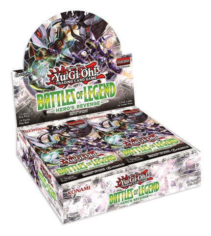 Battles of Legend: Hero's Revenge (1st Edition) Booster Box [24 Packs]