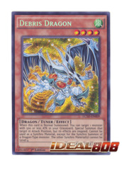 Debris Dragon - LC5D-EN009 - Secret Rare - 1st Edition