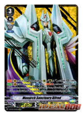 Monarch Sanctuary Alfred - V-BT03/SV01EN - SVR (Gold Hot Stamp)
