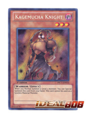 Kagemucha Knight - PRC1-EN014 - Secret Rare - 1st Edition