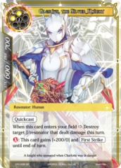 Glorius, the Silver Knight [CFC-006 SR (Foil)] English