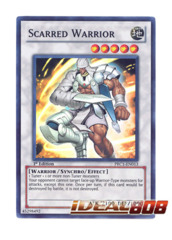Scarred Warrior - PRC1-EN013 - Super Rare - 1st Edition
