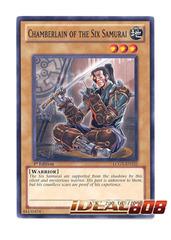Chamberlain of the Six Samurai - LCGX-EN222 - Common - 1st Edition