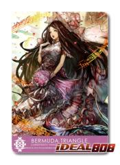Bermuda Triangle - Clan Card - Prestige, Cetia - G-CB03