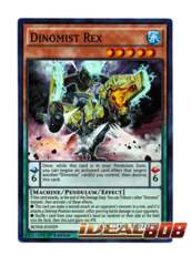 Dinomist Rex - BOSH-EN029 - Super Rare - Unlimited Edition