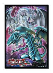 Konami Yugioh Azure-Eyes/Blue-Eyes Double Dragon Small Sleeves (50ct)
