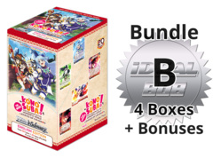 Weiss Schwarz KS/W76 Bundle (B) Silver - Get x4 Konosuba - Legend of Crimson Booster Boxes + FREE Bonus * PRE-ORDER Ships Oct.23