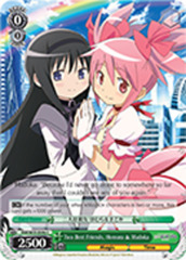 Two Best Friends, Homura & Madoka [MM/W35-E046 C] English