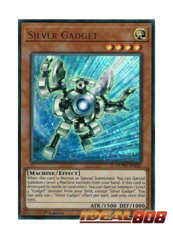 Silver Gadget - DUPO-EN042 - Ultra Rare - 1st Edition